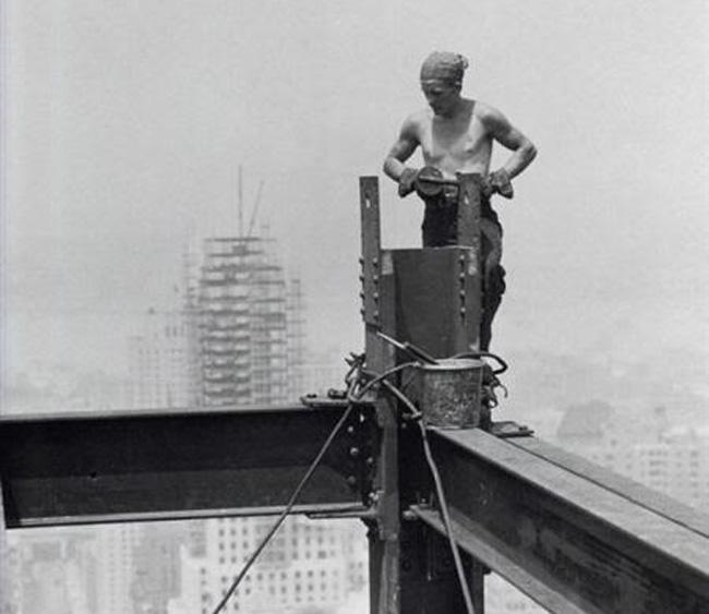 Trabajadores de rascacielos 3