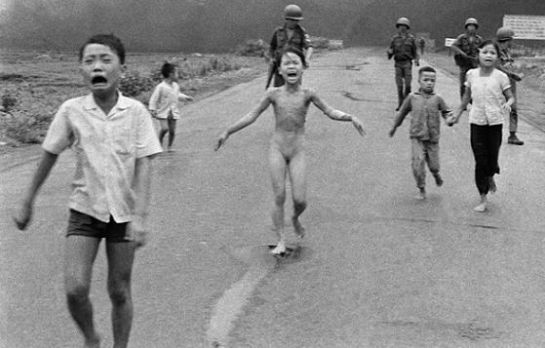 Nick Ut. Vietnam, 1972.
