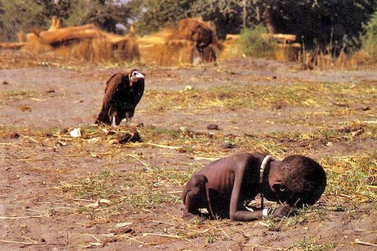 Kevin Carter. Sudán, 1993.