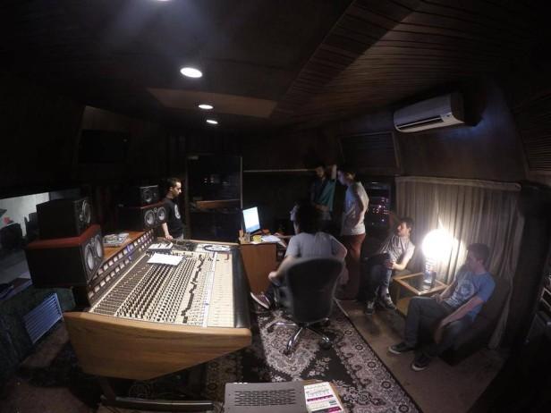 Grabación en los Estudios ION