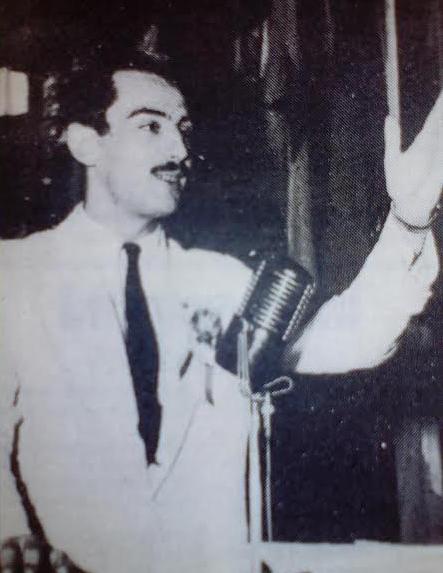 """Jean Pásel. Foto del Semanario """"El Porteño"""". Marzo 1989"""