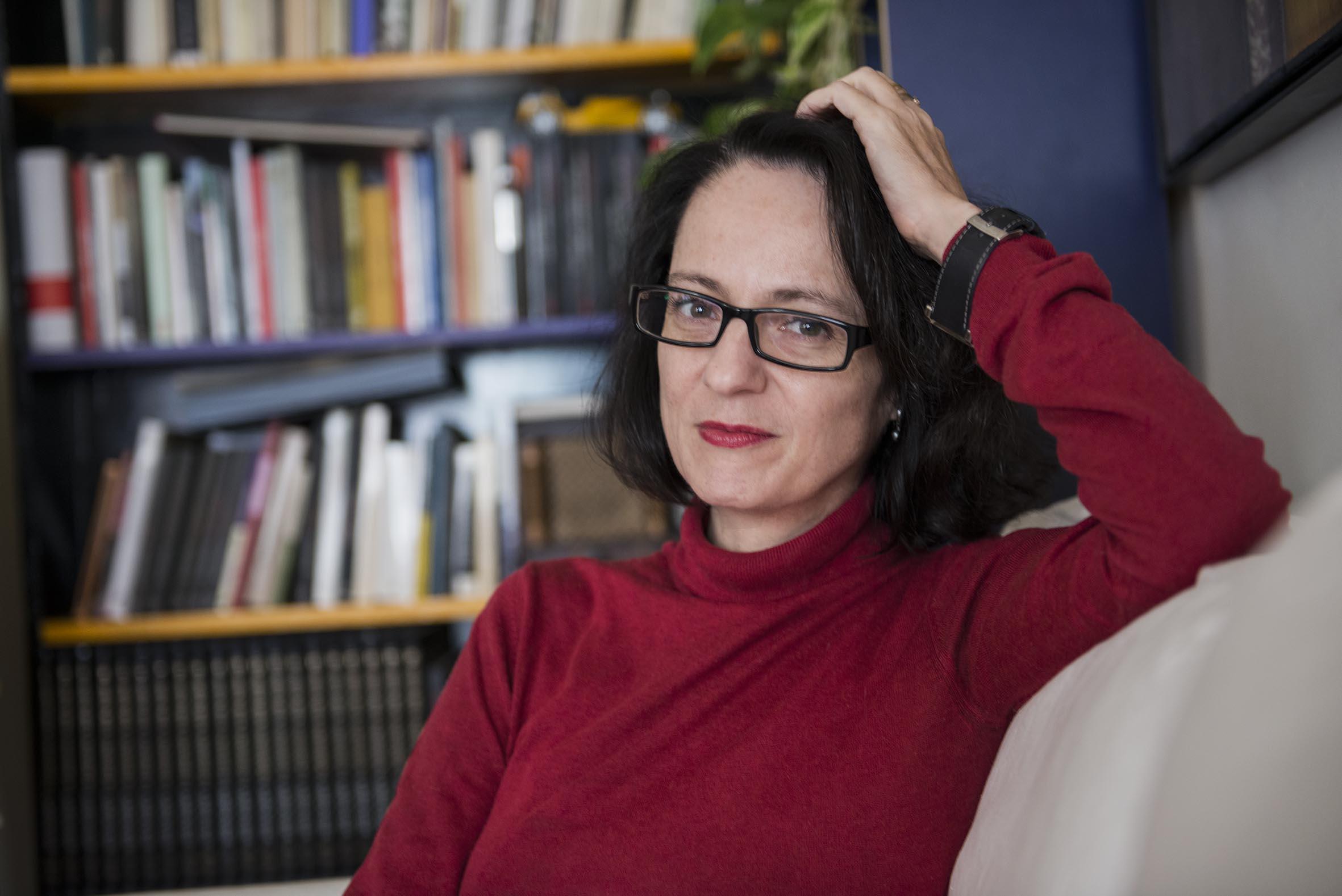 """Marta Sanz: """"Soy una mujer de izquierdas, pero no un monje franciscano"""""""