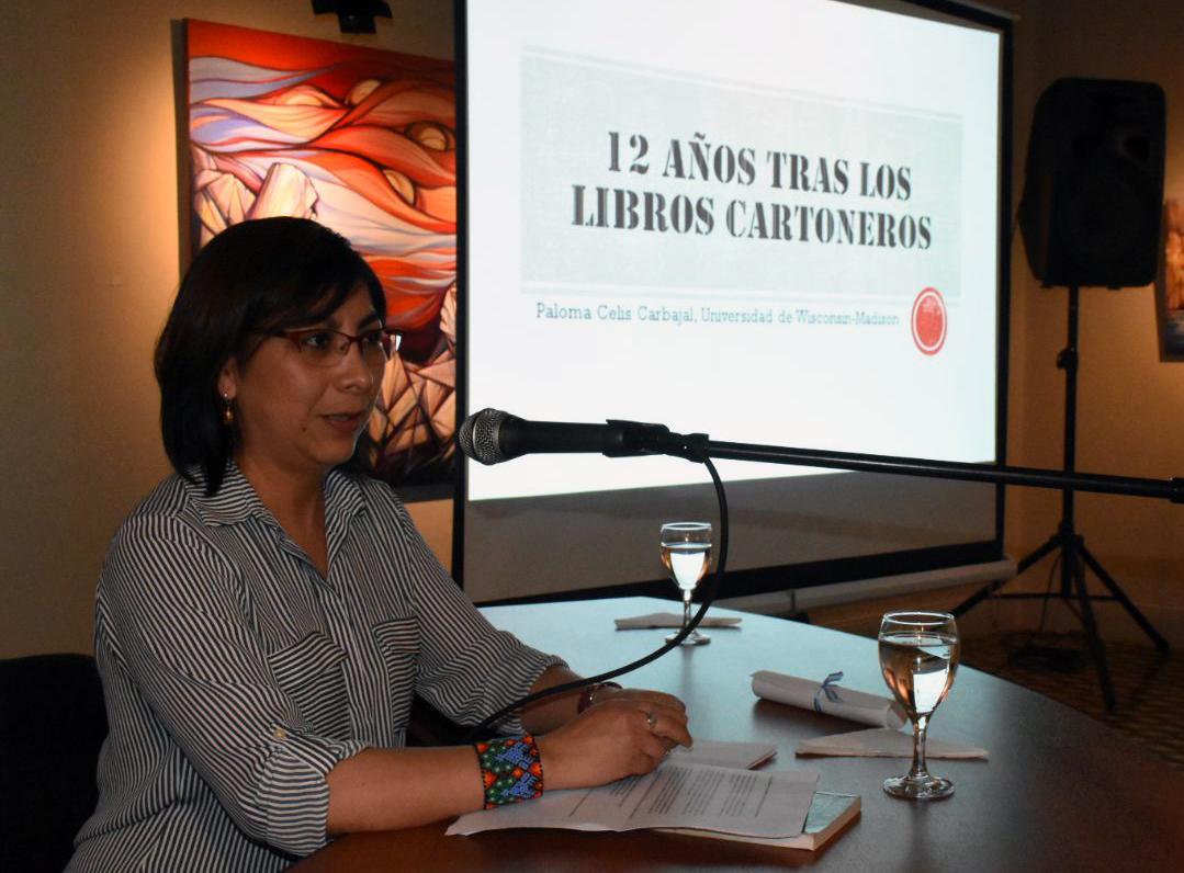 Paloma Celis-Carbajal: «No he encontrado ninguna cartonera con tendencias políticas de derecha»