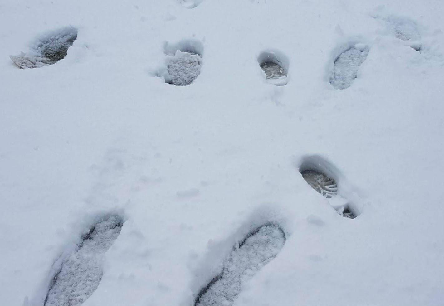 La nieve es un manto que te tapa para siempre