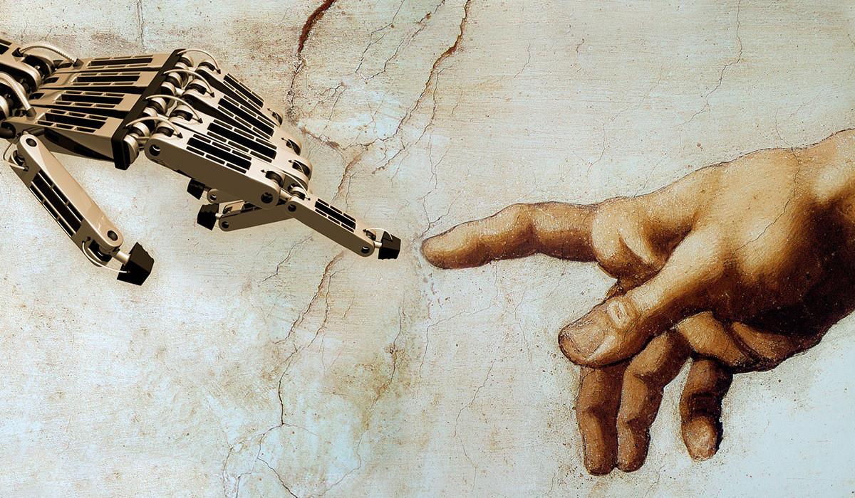 Hágase tu gozosa voluntad: una historia de la religión (ahora tecnológica)