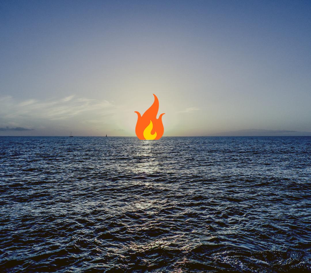 Cinco años nadando hacia el fuego