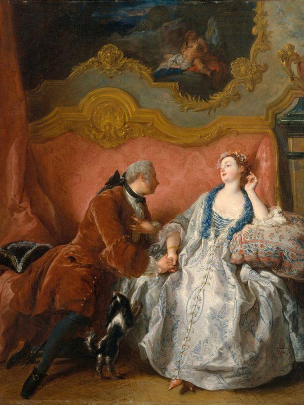 """""""La declaración de amor"""" (1724) de Jean François de Troy"""